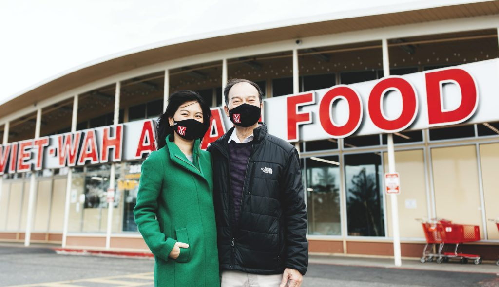 Locals know they'll find the specialty items they need at Viet-Wah Asian Food Market, owned by Leeching Tran and her father, Duc Tran.