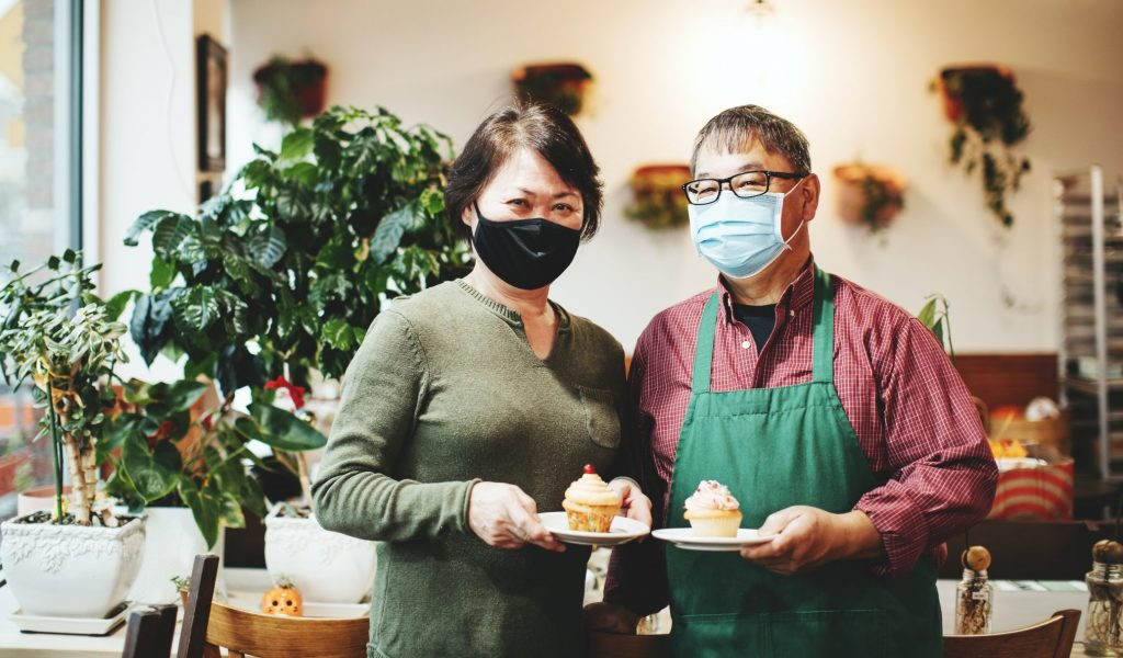Common Ground Coffee & Cupcakes fulfills Lange Woon's dream of owning a business. He and wife Heng opened the Renton shop after his 31-year career at Boeing.