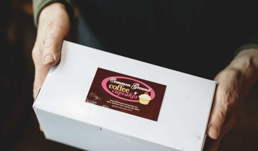 What's in the box? Treats and smiles fill Common Ground to-go orders.
